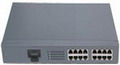 1 Fiber Port + 15 Ethernet Port Optic Fiber Switch