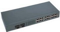 2 Fiber Port + 24 Ethernet Port Optic Fiber Switch